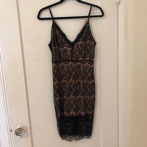 Lush Lace Midi Dress